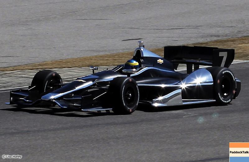 MARCH 12: Sebastien Bourdais at IndyCar Spring Training at Barber Motorsports Park.