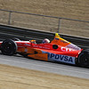 MARCH 13: EJ Viso at IndyCar Spring Training at Barber Motorsports Park.