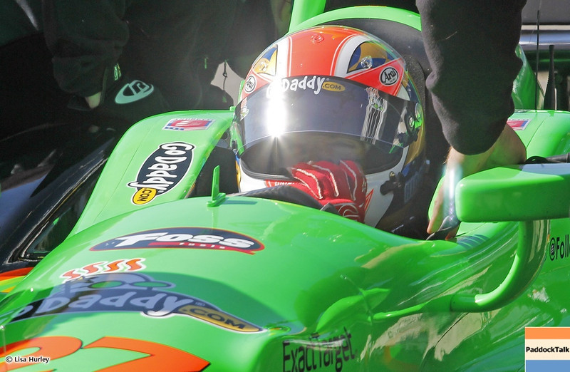 MARCH 13: James Hinchcliffe at IndyCar Spring Training at Barber Motorsports Park.