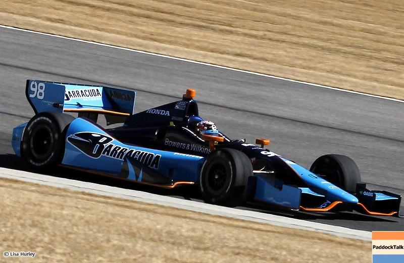 MARCH 12: Alex Tagliani at IndyCar Spring Training at Barber Motorsports Park.