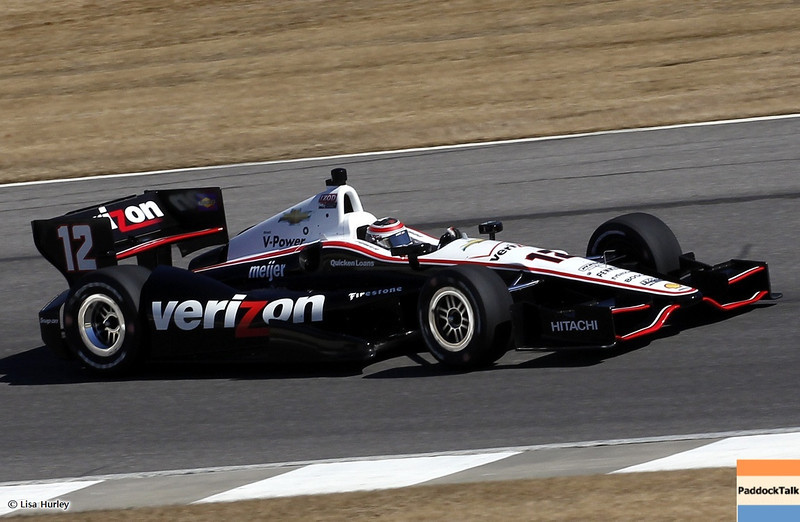 MARCH 12: Will Power at IndyCar Spring Training at Barber Motorsports Park.