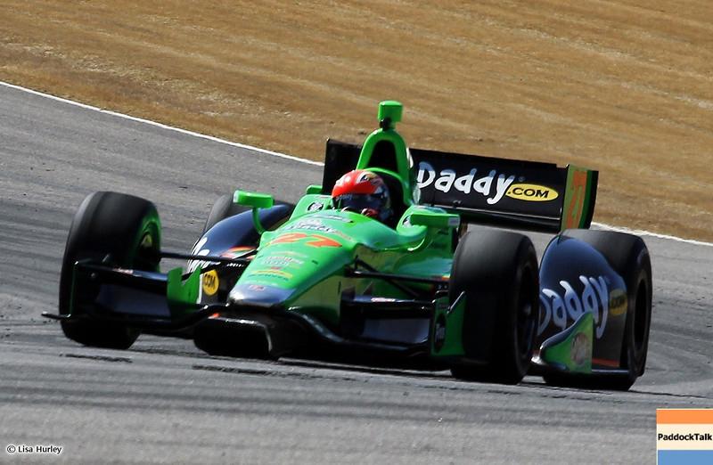 MARCH 13: James Hinchcliffe at IndyCar Spring Training at Barber Motorsports Park.
