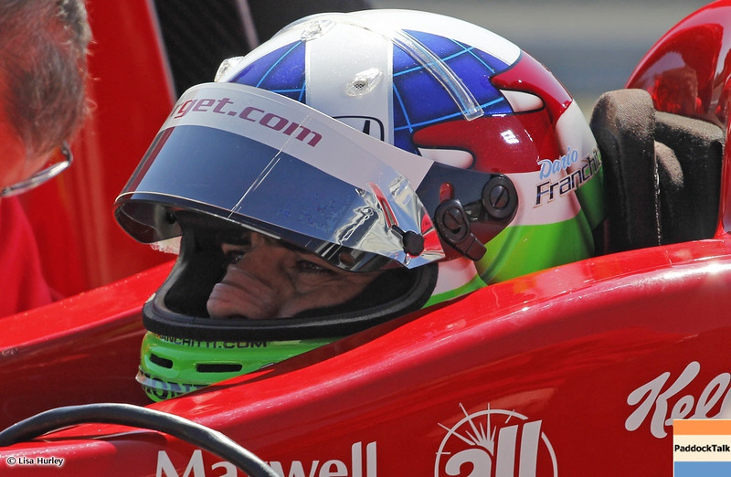 MARCH 12: Dario Franchitti at IndyCar Spring Training at Barber Motorsports Park.