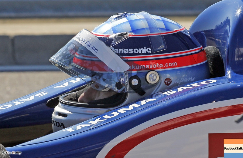 MARCH 13: Takuma Sato at IndyCar Spring Training at Barber Motorsports Park.