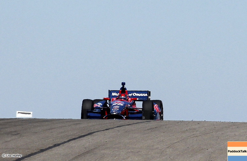 MARCH 12: Marco Andretti at IndyCar Spring Training at Barber Motorsports Park.