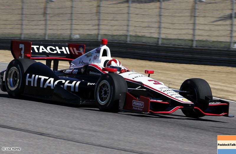 MARCH 12: Helio Castroneves at IndyCar Spring Training at Barber Motorsports Park.