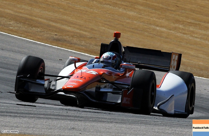 MARCH 13: Tristan Vautier at IndyCar Spring Training at Barber Motorsports Park.