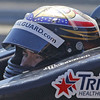 MARCH 12: JR Hildebrand at IndyCar Spring Training at Barber Motorsports Park.