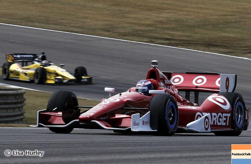 APRIL 6: Track action during qualifying for the Honda Grand Prix of Alabama at Barber Motorsports Park.