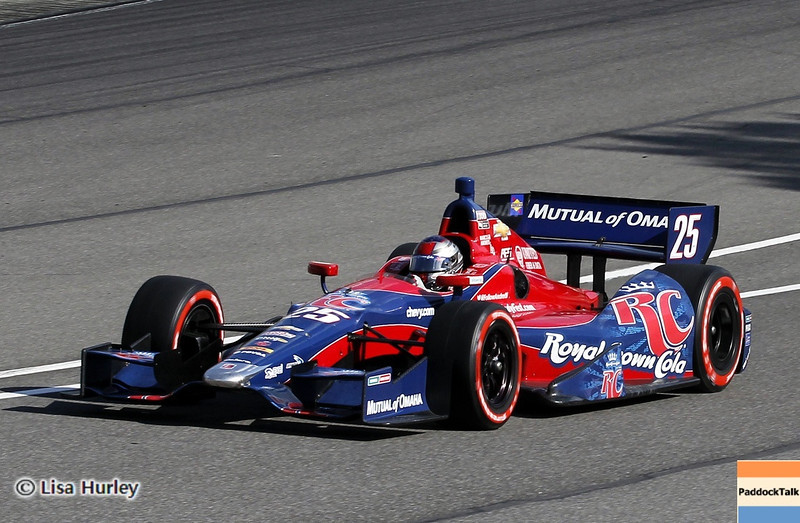 APRIL 7: Marco Andretti during the Honda Grand Prix of Alabama race at Barber Motorsports Park.