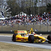APRIL 7: Ryan Hunter-Reay during the Honda Grand Prix of Alabama race at Barber Motorsports Park.