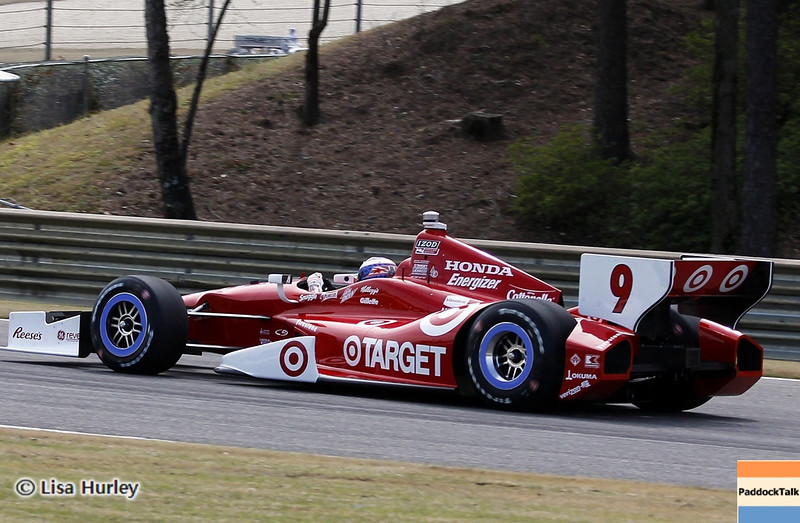 APRIL 6: Scott Dixon during qualifying for the Honda Grand Prix of Alabama at Barber Motorsports Park.