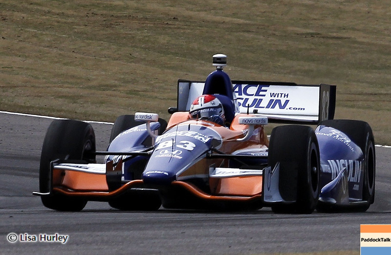 APRIL 6: Charlie Kimball during qualifying for the Honda Grand Prix of Alabama at Barber Motorsports Park.