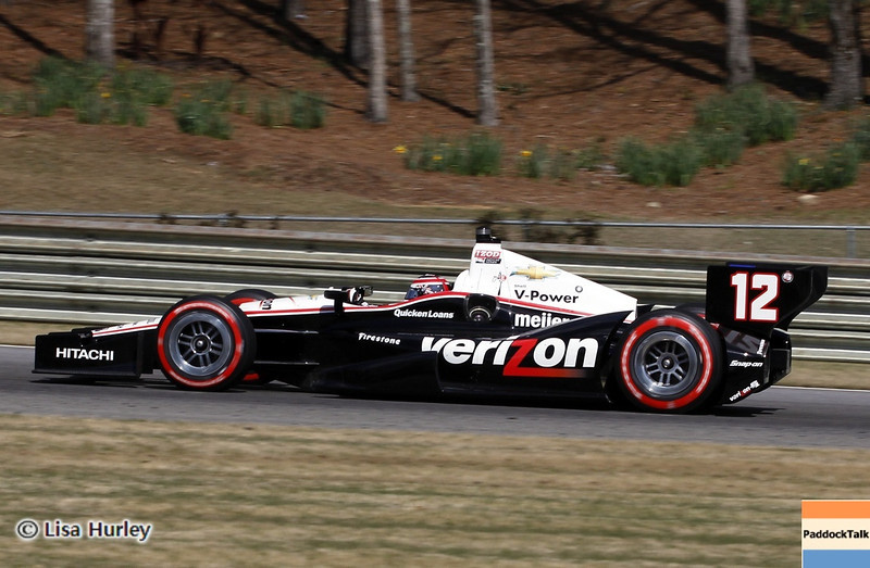 APRIL 7: Will Power during the Honda Grand Prix of Alabama race at Barber Motorsports Park.