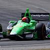 APRIL 6: James Hinchcliffe during qualifying for the Honda Grand Prix of Alabama at Barber Motorsports Park.