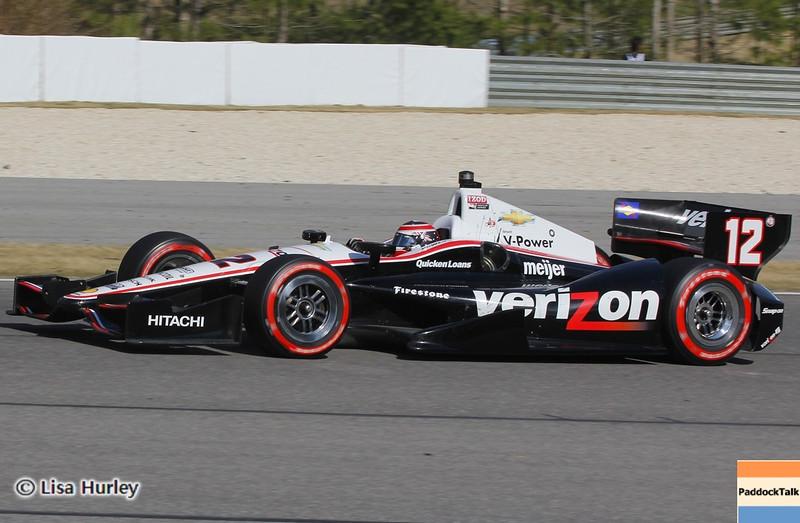APRIL 7: Will Power during the Honda Grand Prix of Alabama race at Barber Motorsports Park.