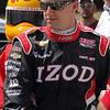 APRIL 7: A.J. Allmendinger before the Honda Grand Prix of Alabama race at Barber Motorsports Park.