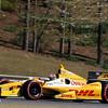 APRIL 7: Ryan Hunter-Reay during the Honda Grand Prix of Alabama race at Barber Motorsports Park.