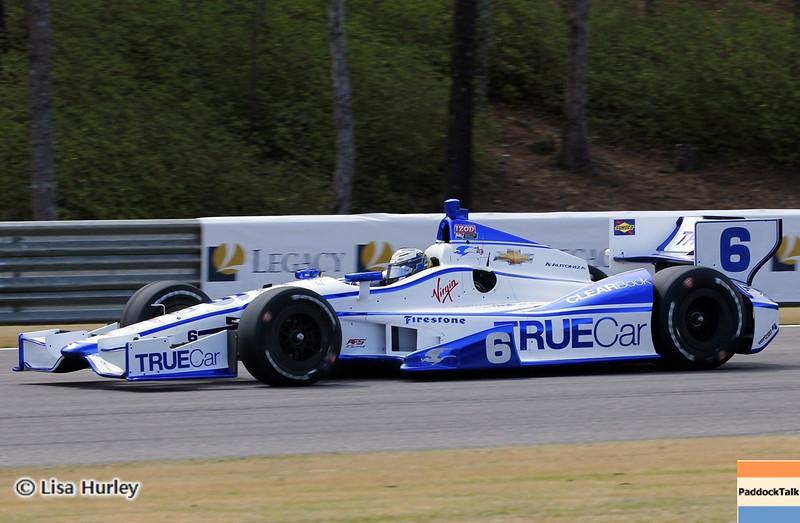 APRIL 6: Sebastian Saavedra during qualifying for the Honda Grand Prix of Alabama at Barber Motorsports Park.