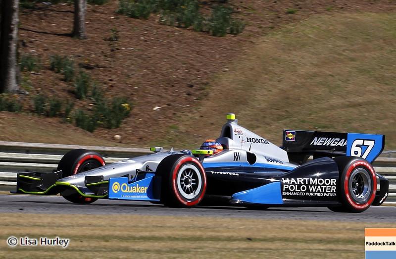 APRIL 7: Josef Newgarden during the Honda Grand Prix of Alabama race at Barber Motorsports Park.