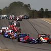 APRIL 7: Lap 2 during the Honda Grand Prix of Alabama race at Barber Motorsports Park.