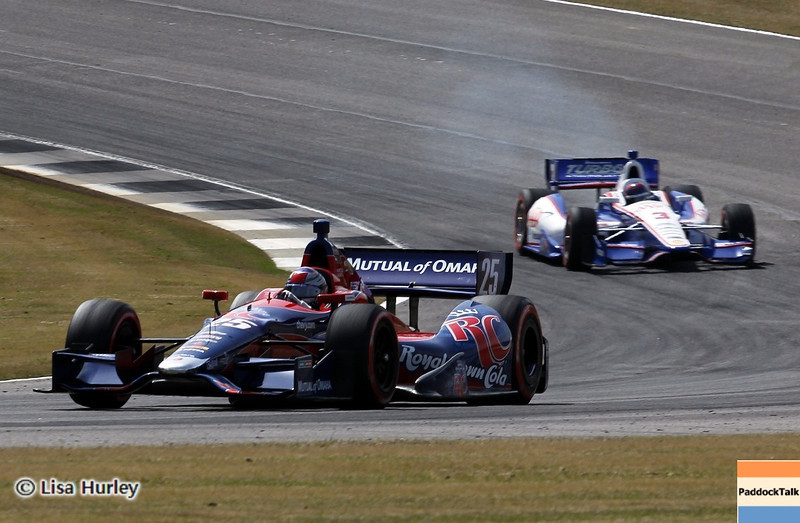 APRIL 6: Track action during qualifying for the Honda Grand Prix of Alabama at Barber Motorsports Park.