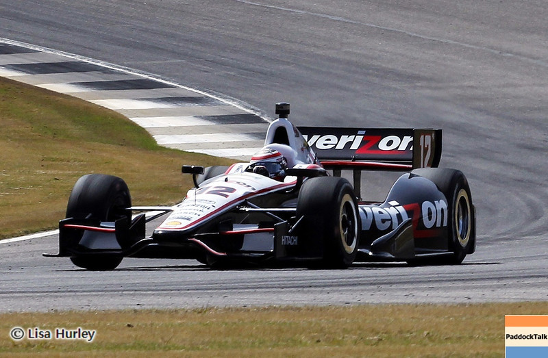APRIL 6: Will Power during qualifying for the Honda Grand Prix of Alabama at Barber Motorsports Park.