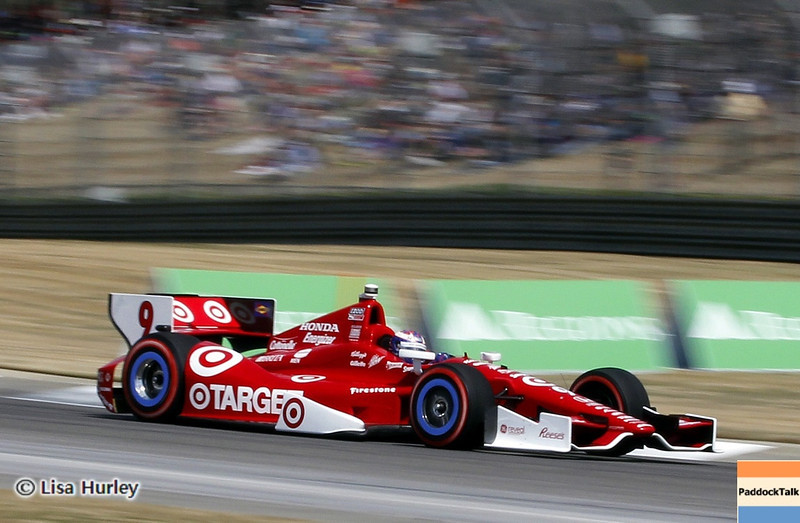APRIL 7: Scott Dixon during the Honda Grand Prix of Alabama race at Barber Motorsports Park.