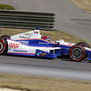 APRIL 7: Helio Castroneves during the Honda Grand Prix of Alabama race at Barber Motorsports Park.