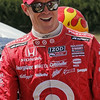 APRIL 7: Scott Dixon before the Honda Grand Prix of Alabama race at Barber Motorsports Park.