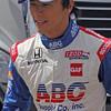 APRIL 7: Takuma Sato before the Honda Grand Prix of Alabama race at Barber Motorsports Park.