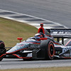 APRIL 6: JR Hildebrand during qualifying for the Honda Grand Prix of Alabama at Barber Motorsports Park.