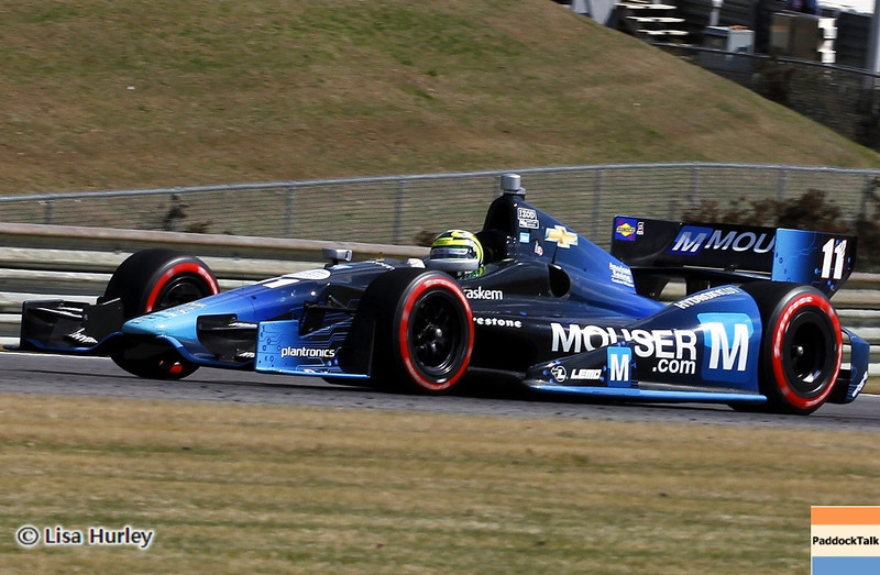 APRIL 7: Tony Kanaan during the Honda Grand Prix of Alabama race at Barber Motorsports Park.