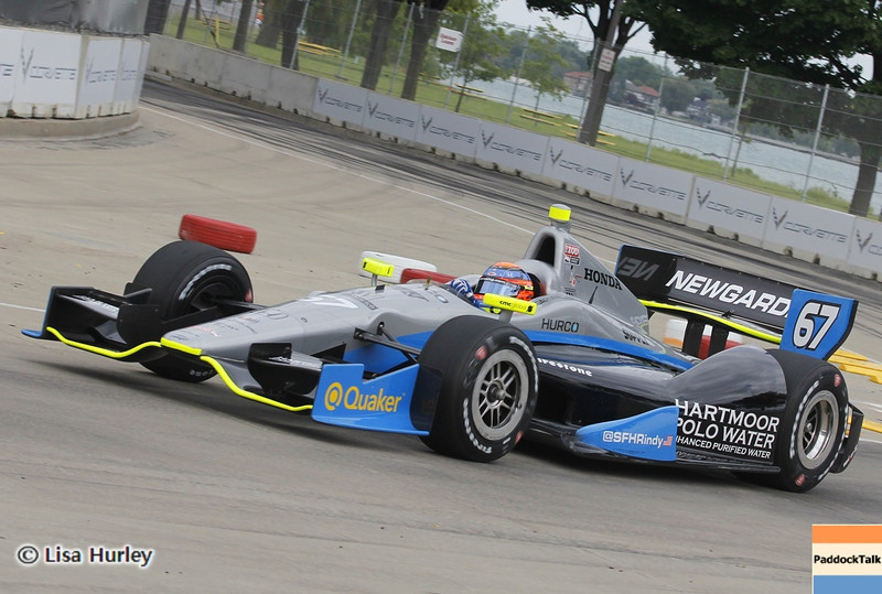 June 2: Josef Newgarden during the Chevrolet Detroit Belle Isle Grand Prix.