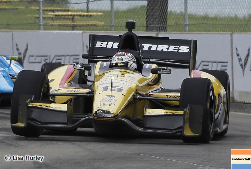 June 2: Graham Rahal during the Chevrolet Detroit Belle Isle Grand Prix.