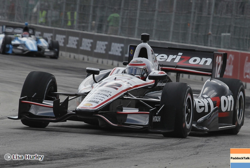 June 2: Will Power during the Chevrolet Detroit Belle Isle Grand Prix.
