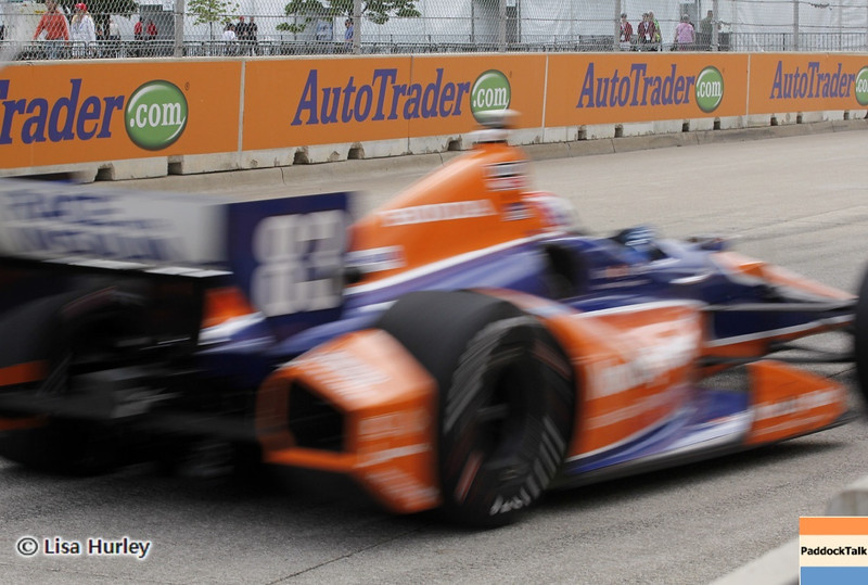 June 2: Charlie Kimball during the Chevrolet Detroit Belle Isle Grand Prix.