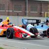 June 2: E.J. Viso and Simon Pagenaud during the Chevrolet Detroit Belle Isle Grand Prix.