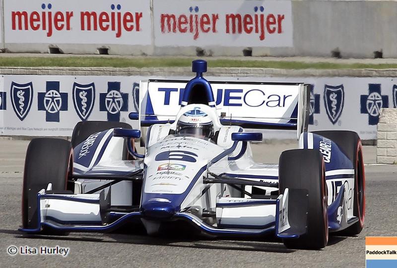 June 1: Sebastian Saavedra during the Chevrolet Detroit Belle Isle Grand Prix.