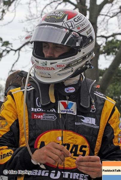 June 1: Graham Rahal during the Chevrolet Detroit Belle Isle Grand Prix.