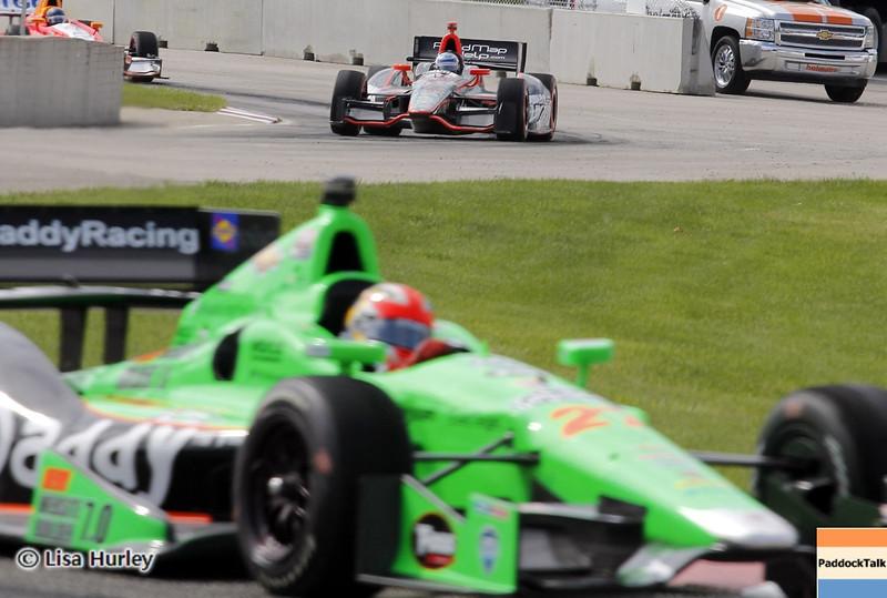 June 1: Track action during the Chevrolet Detroit Belle Isle Grand Prix.
