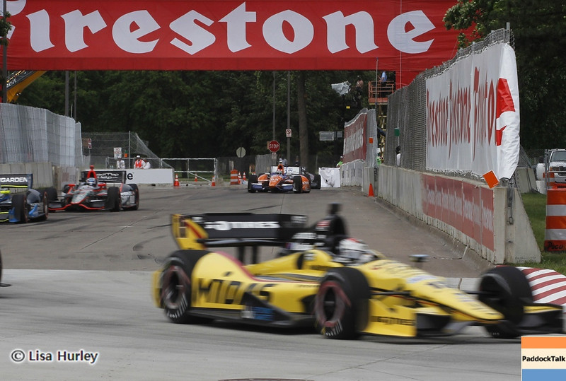 June 1: Graham Rahal during the Chevrolet Detroit Belle Isle Grand Prix.