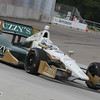 June 1: Ed Carpenter during the Chevrolet Detroit Belle Isle Grand Prix.