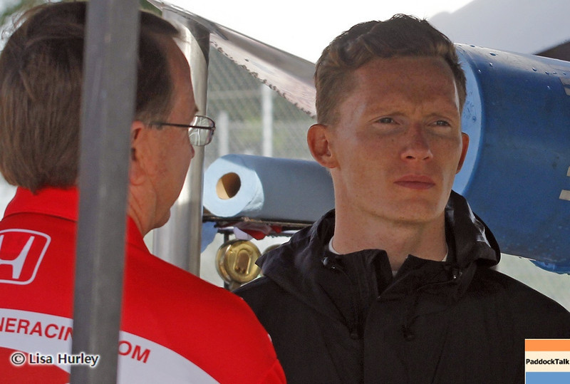 June 1: Mike Conway during the Chevrolet Detroit Belle Isle Grand Prix.