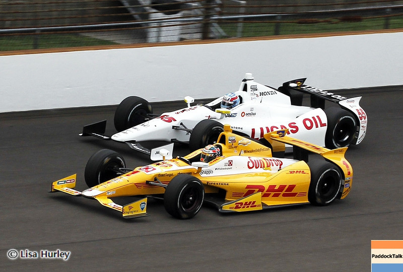 May 15: Track action during practice for the 97th Indianapolis 500 at the Indianapolis Motor Speedway