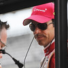 May 15: Helio Castroneves during practice for the 97th Indianapolis 500 at the Indianapolis Motor Speedway