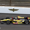 May 15: Oriol Servia during practice for the 97th Indianapolis 500 at the Indianapolis Motor Speedway