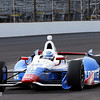 May 15: Ryan Briscoe during practice for the 97th Indianapolis 500 at the Indianapolis Motor Speedway