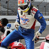 May 15: Justin Wilson during practice for the 97th Indianapolis 500 at the Indianapolis Motor Speedway