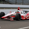 May 15: Sebastien Bordais during practice for the 97th Indianapolis 500 at the Indianapolis Motor Speedway